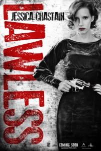 jessica chastain lawless poster