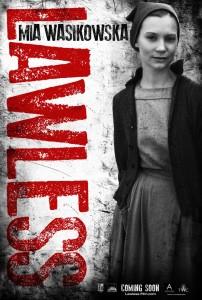 mia wasikowska lawless poster