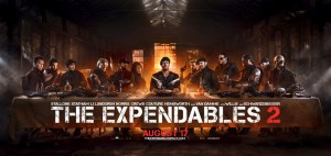 The Expendables 2 Last Supper poster