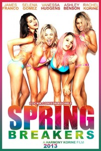 spring breakers la locandina del film
