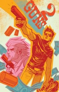 2 guns poster fumetto