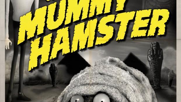 frankenweenie mummy hamster poster