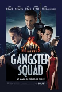 gangster squad new poster