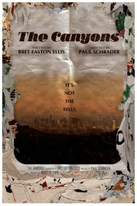 the canyons new poster