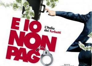 E io non pago poster e sinossi della commedia di Alessandro Capone 2