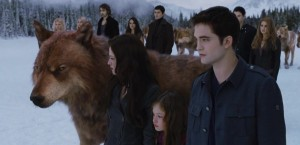 Una scena di Breaking Dawn parte 2