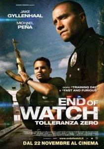 end of watch tolleranza zero poster italia 01 mid