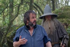 peter jackson ian mckellen lo Hobbit