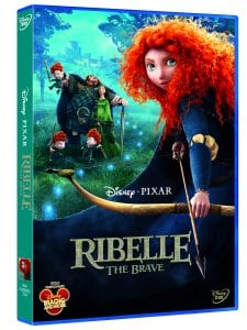 Ribelle - The Brave: il Packshot del DVD