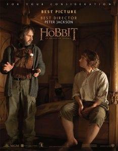 """Il secondo poster di """"Lo Hobbit - Un Viaggio Inaspettato"""" per la campagna """"For Your Consideration"""""""