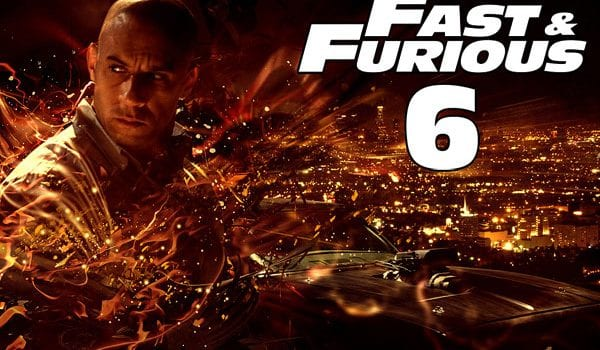 """Poster """"Fast & Furious 6"""""""