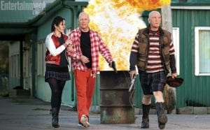 Bruce Willis, Mary-Louise Parker e John Malkovich in Red 2