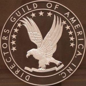 Il logo ufficiale del Directors Guild of America, il sindacato dei registi