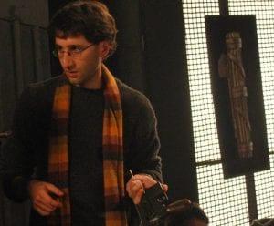 Il regista Matteo Scarfò sul set del film