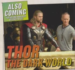 Chris Hemsworth e Alan Taylor sul set di Thor: The Dark World