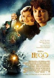 "La locandina del film ""Hugo Cabret"""