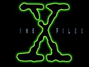 """Il leggendario logo di """"X-Files"""""""