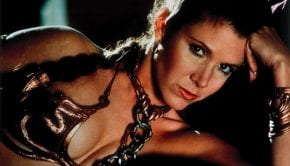 Carrie Fisher Leila