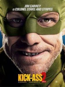 Il nuovo character poster di Kick-Ass 2 con protagonista Jim Carrey