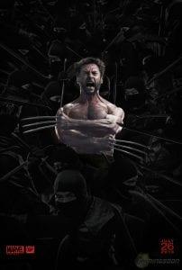 Wolverine circondato dai samurai nel nuovo poster