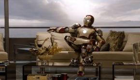 Iron Man 3 scena