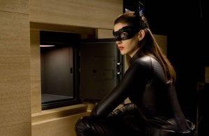 Anne Hathaway in un'immagine de Il Cavaliere Oscuro - Il Ritorno