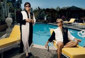 Michael Douglas e Matt Damon in Behind the Candelabra