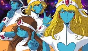 """I quattro protagonisti di """"Interstella 5555"""""""