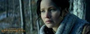 Jennifer Lawrence in un'immagine da La ragazza di fuoco