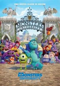Il poster italiano definitivo di Monsters University