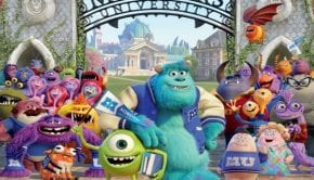 monsters university poster italiano