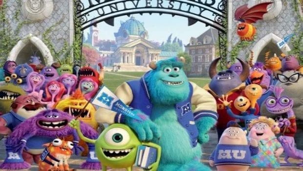 monsters university poster italiano