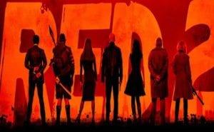 Un banner promozionale di Red 2