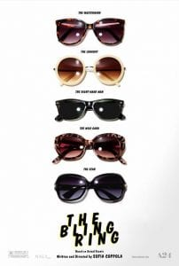 Il teaser poster di The Bling Ring