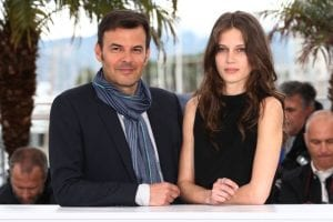 Francois Ozon e Marine Vacth | © Andreas Rentz/Getty Images