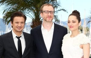 Jeremy Renner, James Gray e Marion Cotillard | © Andreas Rentz