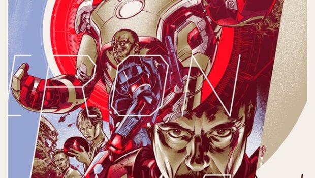 Iron Man 3 Martin Ansin Variant