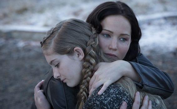 katniss e prim hunger games la ragazza di fuoco