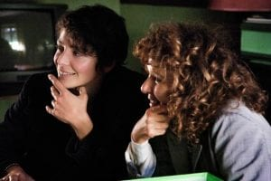 Jasmine Trinca e Valeria Golino sul set di Miele