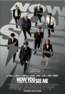 Il poster italiano di Now You See Me - I maghi del crimine
