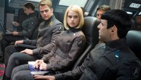star trek into darkness chris pine alice eve karl urban zachary quinto