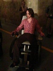 James McAvoy è il professor Charles Xavier in X-Men: Giorni di un futuro passato