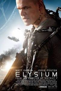 Matt Damon nell'IMAX poster di Elysium