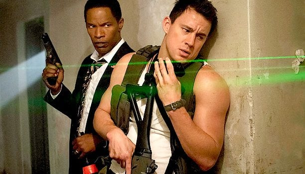 jamie foxx channing tatum white house down