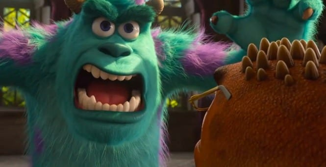 Sulley nella nuova clip di Monsters University