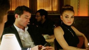 James Deen e Lindsay Lohan in The Canyons