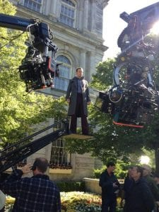 Michael Fassbender nei panni di Magneto