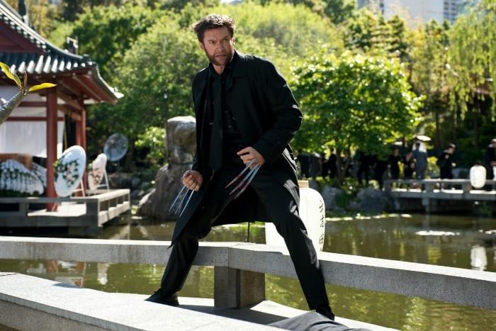 L'attore Hugh Jackman in The Wolverine - L'immortale