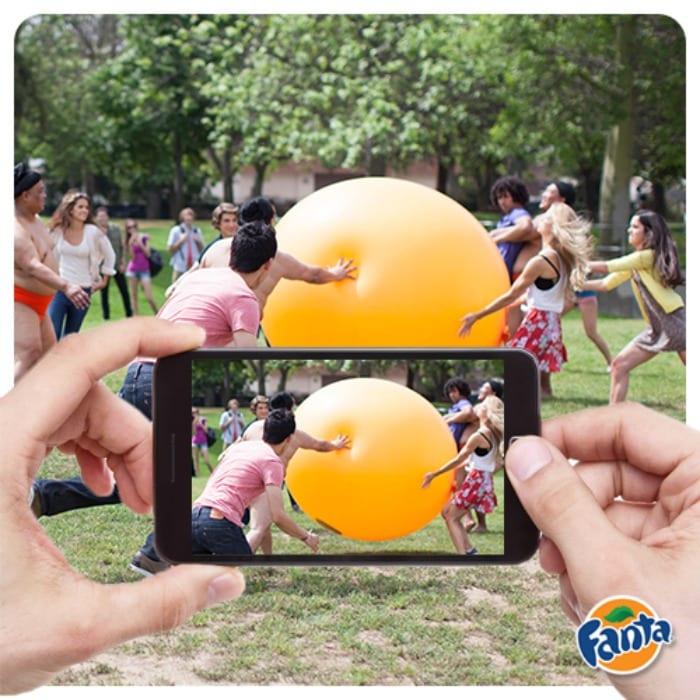 Fanta Sumo Ball | © Fanta