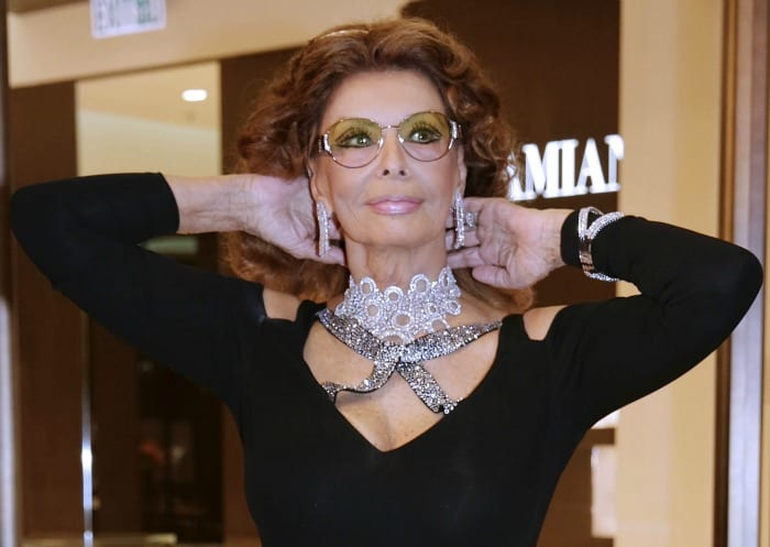 Sophia Loren | ©  Jessica Hromas / Getty Images